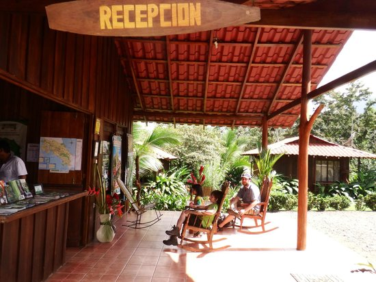 Hotel Rancho Cerro Azul : Reception