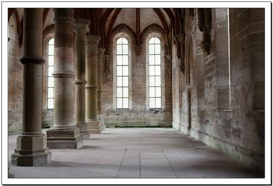 Kloster Maulbronn: Refectory for fathers