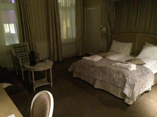 Britannia Hotel: Stort og fint rom