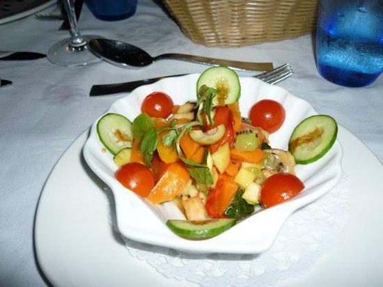 Le Duc de Praslin : Une excellente salade !