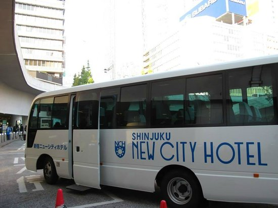 Shinjuku New City Hotel: Hotel Bus Shuttle Service
