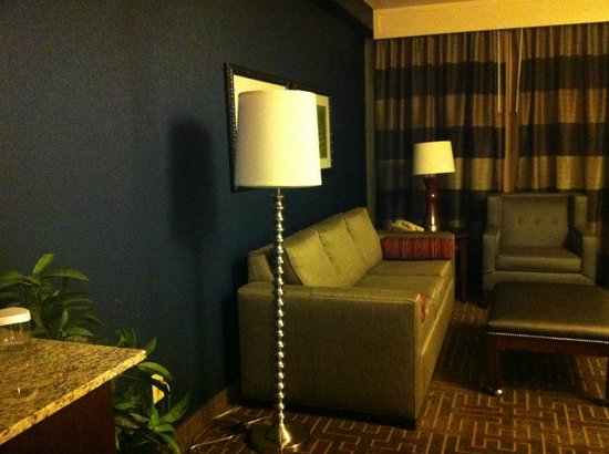Embassy Suites by Hilton Atlanta - Buckhead: in the living room