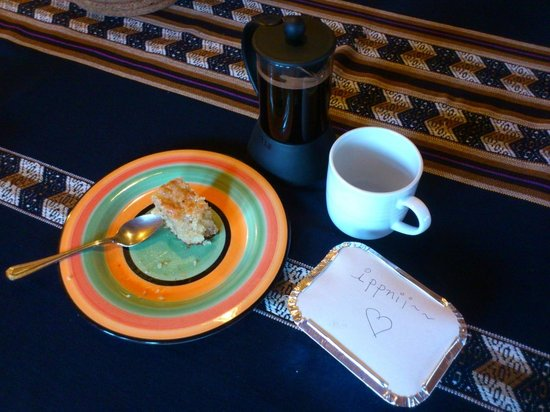 Cinnabar : coffee break with seed cake