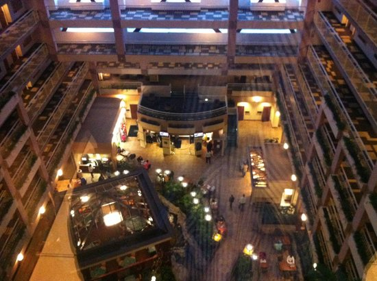 Embassy Suites by Hilton Atlanta - Buckhead: view from the elevator