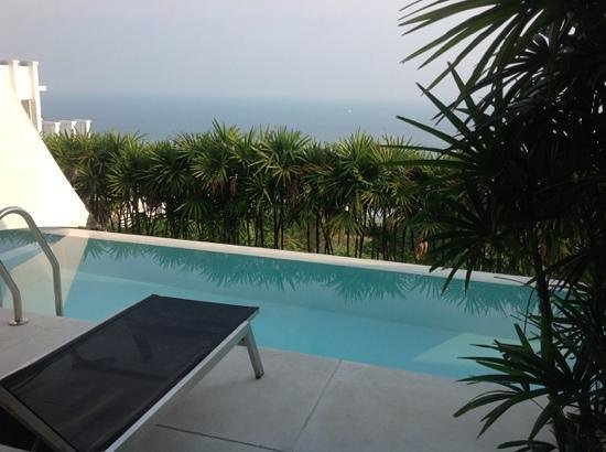 Infinity Residences & Resort Koh Samui: view from master bedroom
