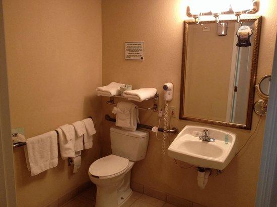 StaySky Suites I-Drive Orlando : Toilettes dans la salle de bain