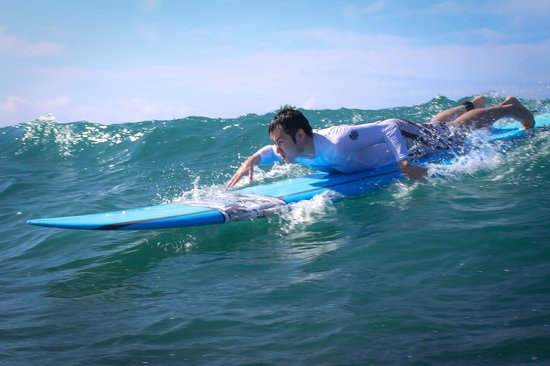 Gone Surfing Hawaii : my arms were extremely sore after, make sure you stretch before and after... or go to a spa mass