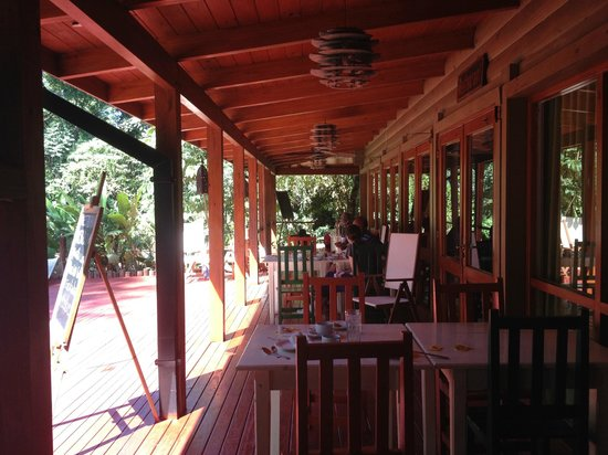 La Cantera Jungle Lodge: Restaurant