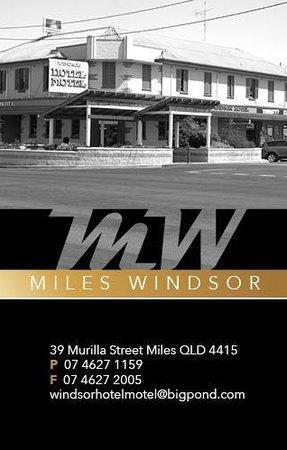 Miles Windsor Hotel Motel: Windsor Hotel Motel