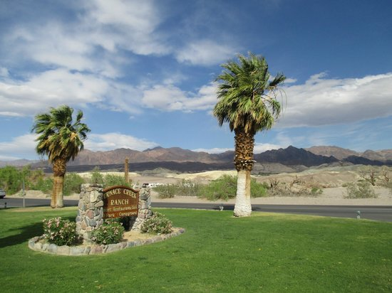 The Ranch at Death Valley: welcome to Furnace Creek