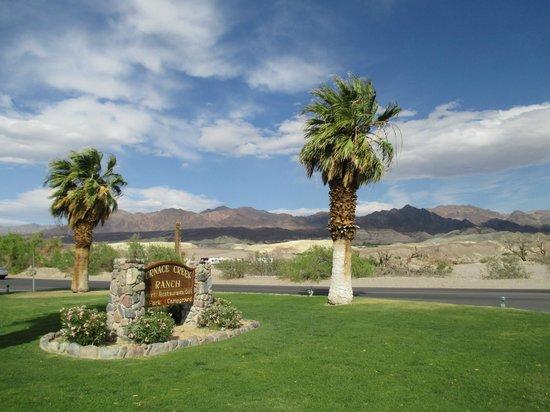 Furnace Creek Inn and Ranch Resort : welcome to Furnace Creek