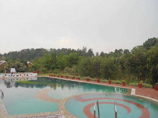 Kadkani River Resort: Pool Area