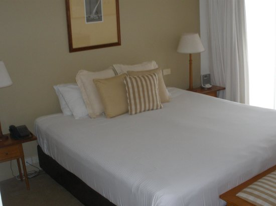 Anchorage Port Stephens: Comfy King Bed