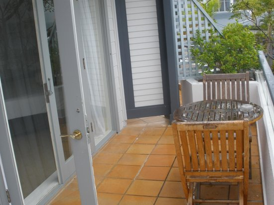 Anchorage Port Stephens : Lovely Balcony Area