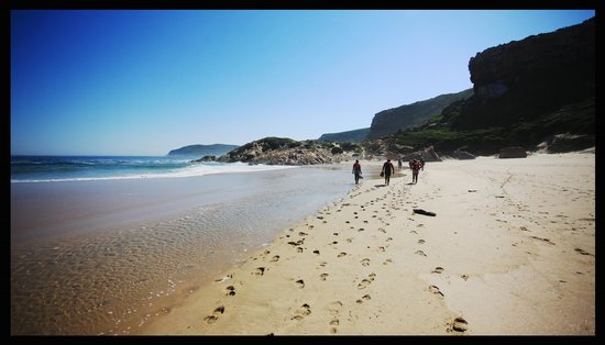 Robberg Nature Reserve : Robberg Hikers