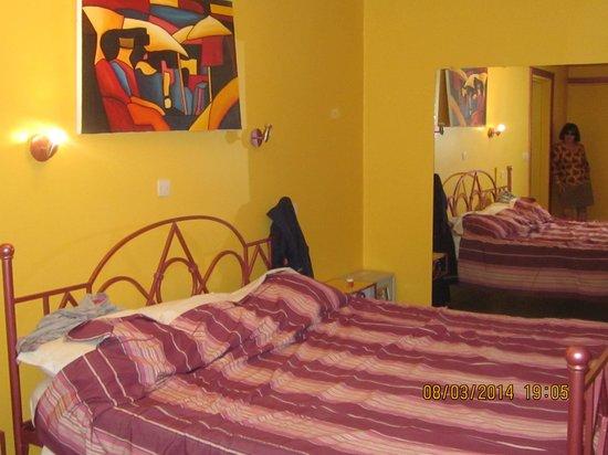 LEET DORIAN HOTEL ( 107€ la nuitée) : La chambre