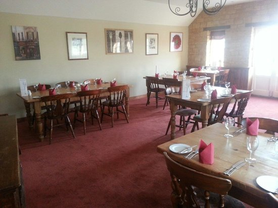 The Hatton Arms: Newly decorated restaurant