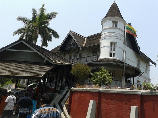 Bogyoke Aung San Museum: General Aung Sun House turned into a museum.