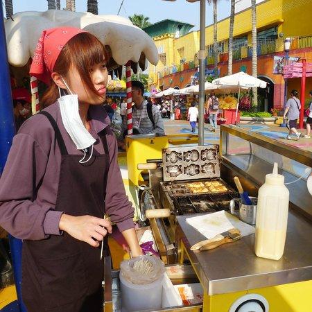 Lihpao Land: Food carts
