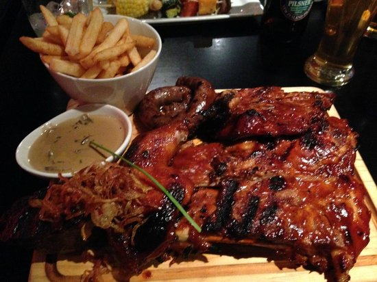 Flame Bar and Grill : Flame - ribs, fillet, chicken & boerewors!