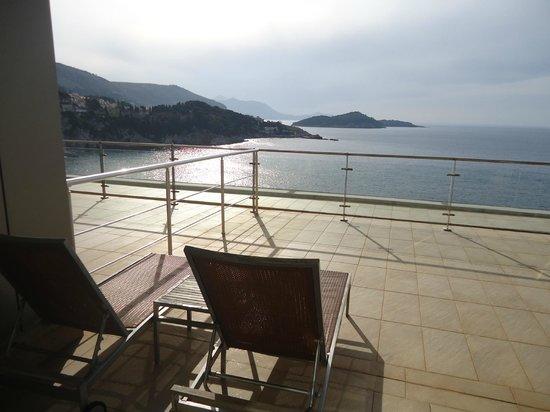 Rixos Hotel Libertas: Room balcony