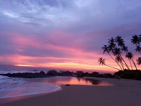 Villa Balapitiya Beach: Закат