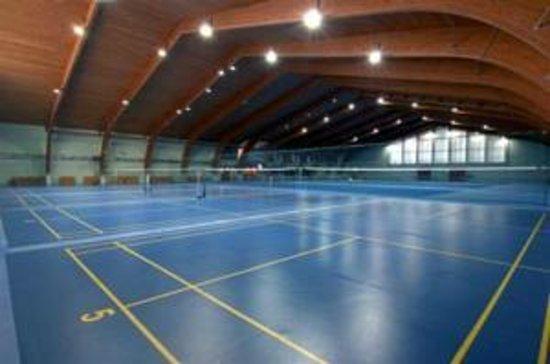 Hotel Harmonija: Tennis & Badminton courts