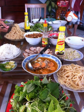 Homestay Dong Nguyen: Cooking class 2