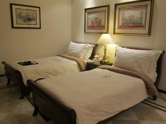 The Imperial Hotel: Beds are very comfortable