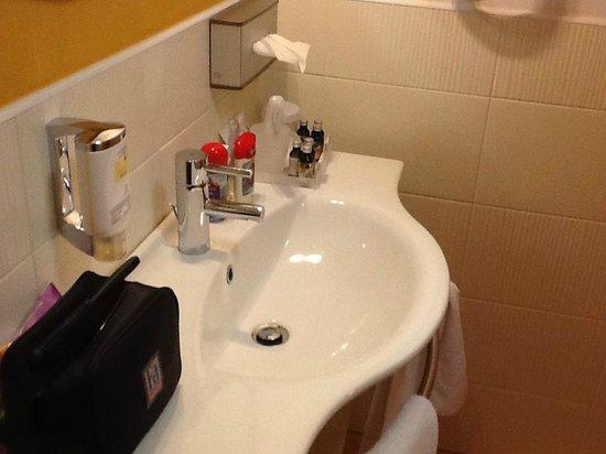 City Hotel Ljubljana: Washing basin