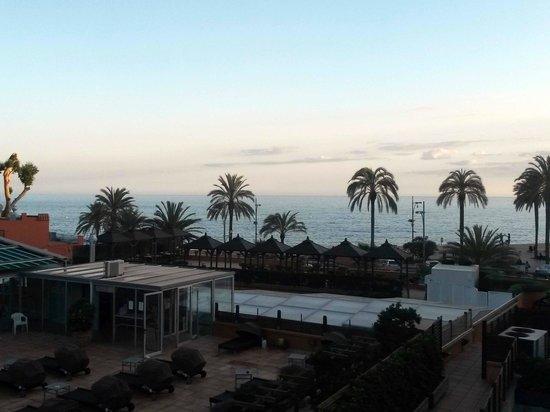 Rosamar & Spa : Vue de la terrasse de la chambre