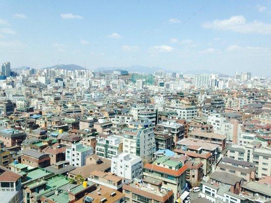 Best Western Premier Gangnam: View from room