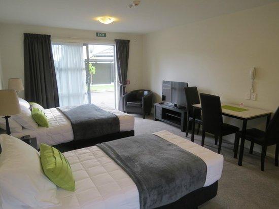 Ellena Court Motel: Twin studio spa