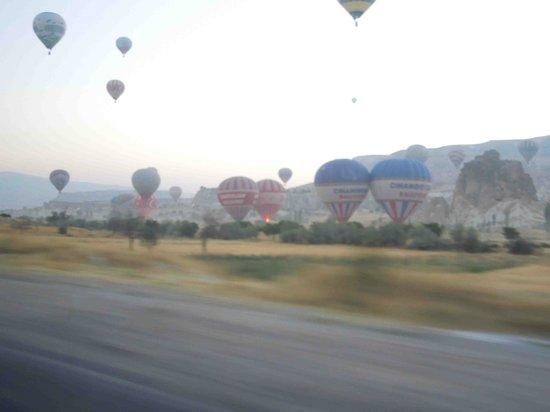Hot Air Ballooning Cappadocia: たくさんの気球