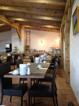 Hotel du Golf: La salle du petit déjeuner