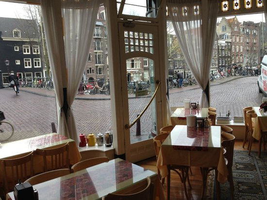 Amsterdam Wiechmann Hotel: Dinning room