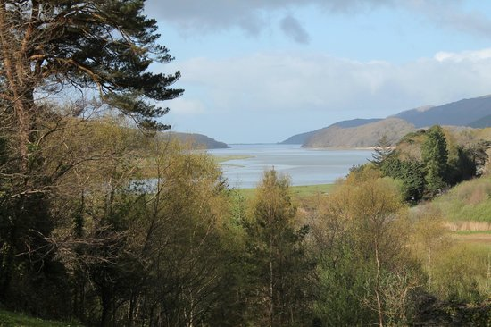 Coed Cae Bed & Breakfast: Coed Cae overlooking the Mawwddach Estuary