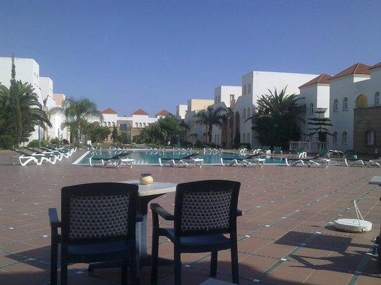 Hotel Ryad Mogador Essaouira: Бассейн не подогревается
