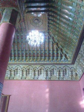 Hotel Ryad Mogador Essaouira: Лобби. Люстра и потолок просто шикарны