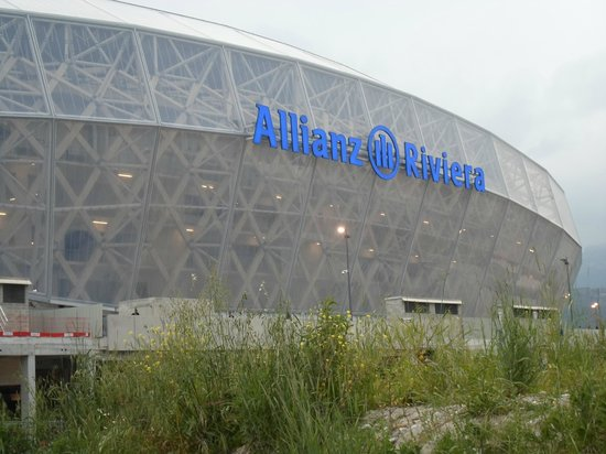 Allianz Riviera : Esterno dell'Allian Riviera