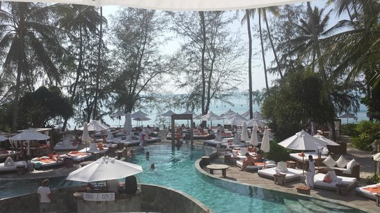 Nikki Beach Koh Samui : Global view