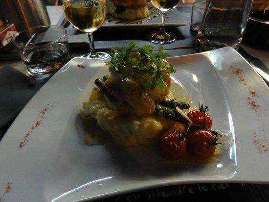 Le garde manger : Lotte au chorizo