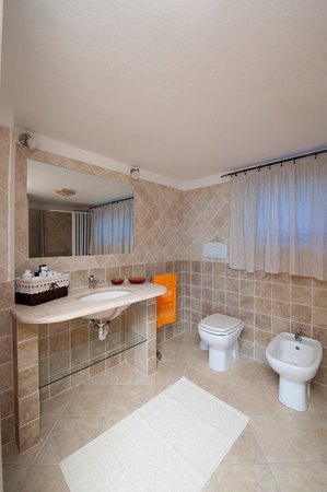 Bed And Breakfast Villetta Anna: Bagno del B&B