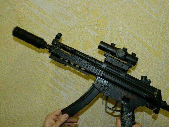 Kaos Laser Combat: M25