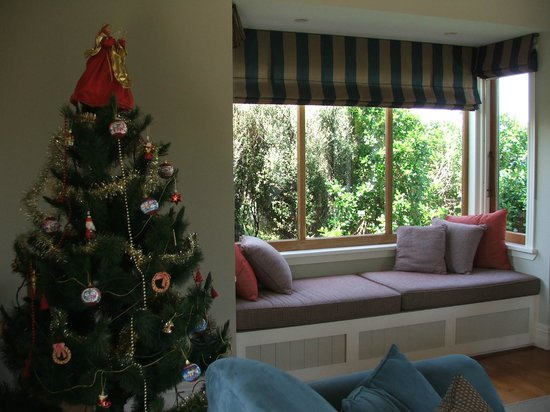 The Guesthouse at Taiharuru Farms Lodge: Christmas tree