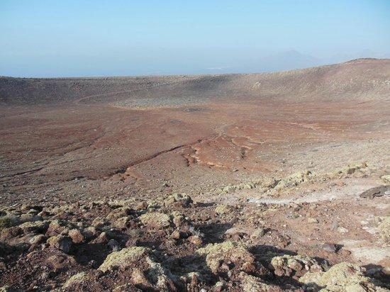 Montana Roja : Crater walk