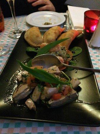 La Tia Rica: Tonfisk, grönsaker och tapas