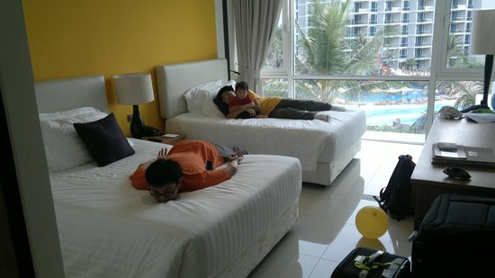 Centara Grand West Sands Resort & Villas Phuket: Double room (i.e. 2 double beds)
