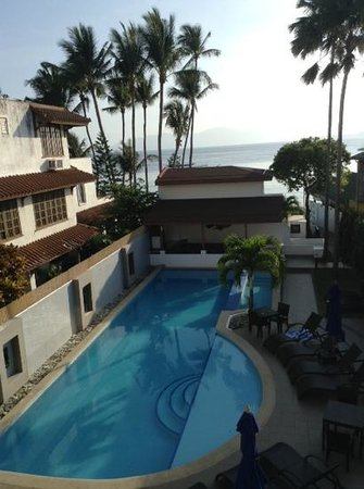 Out of the Blue Resort : view from the balcony