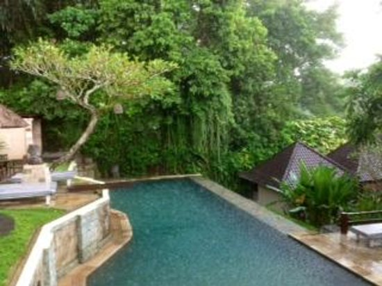Beji Ubud Resort: Upper pool area